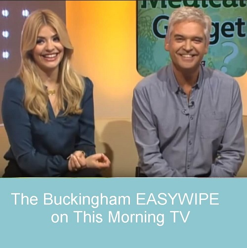 Buckingham Easywipe on This Morning