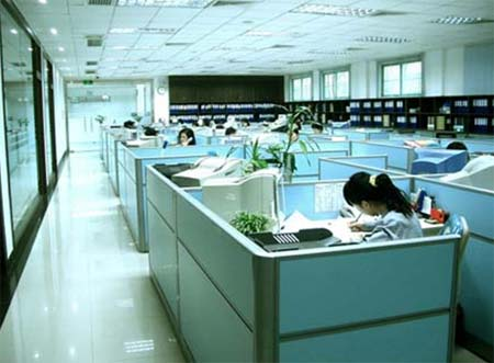 Office workers in Japan