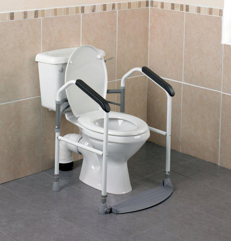 BUCKINGHAM FOLDEASY FOLDING TOILET FRAME