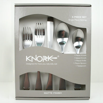 Knork 5 Piece Cutlery Set