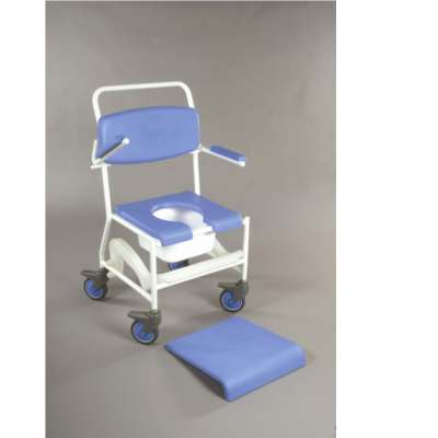 Deluxe Shower Chair and Wheeled Commode